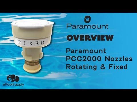 Paramount Pcc2000 Nozzles Rotating And Fixed Youtube