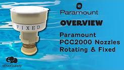Paramount PCC2000 Nozzles Rotating and Fixed