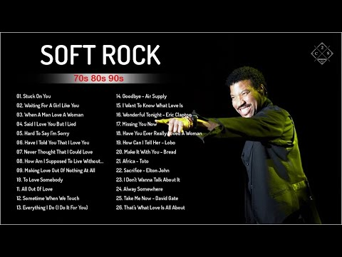 Lionel Richie, Bee Gees, Rod Stewart, Air Supply, Chicago| Greatest Soft Rock Songs 70's, 80's, 90's