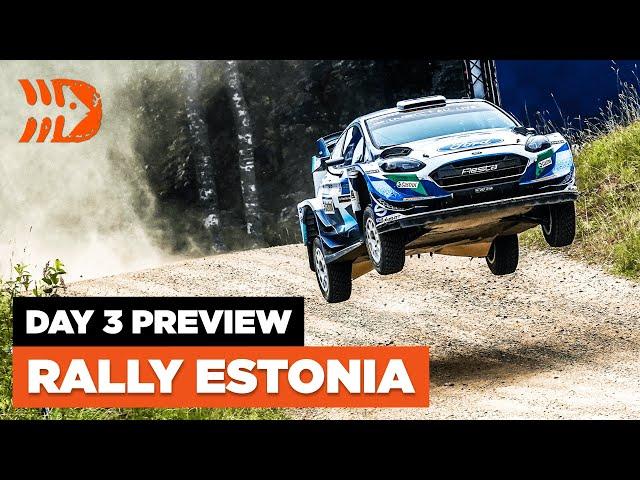 Rally Estonia 2021 - Day 3 PREVIEW