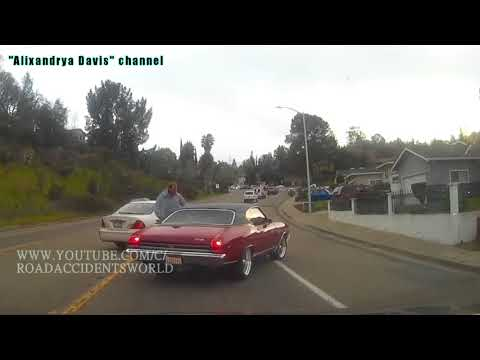 ROAD RAGE IN AMERICA /  BAD DRIVERS / USA / CANADA / NORTH AMERICAN DRIVING / FAIL