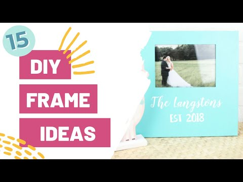 15 diy frame ideas youtube 15 diy frame ideas solutioingenieria Image collections