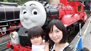 実物大のトーマスに会える!大井川鐵道きかんしゃトーマスに行ってきた