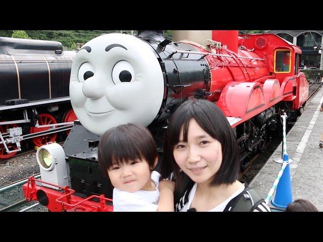 大井川鐵道きかんしゃトーマスに行ってきた2016