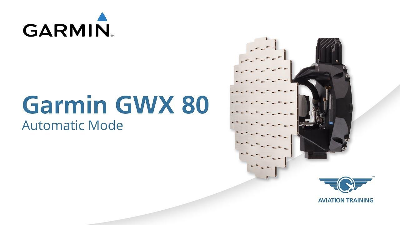 Garmin GWX 80 Series – Automatic Mode - Dauer: 3 Minuten, 9 Sekunden