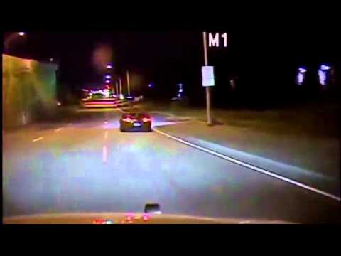 New Raw Video: Police Chase Drunk Driver (DUI) Mazda RX8 - EMT / Paramedics