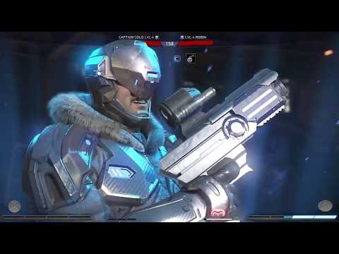 Injustice 2 Captain Cold New Ability Air Ice Out