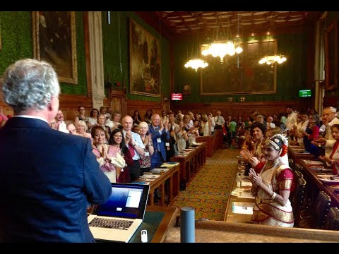 Members of British Parliament Honour Dr. Tony Nader - Yoga Day, 10 July 2017
