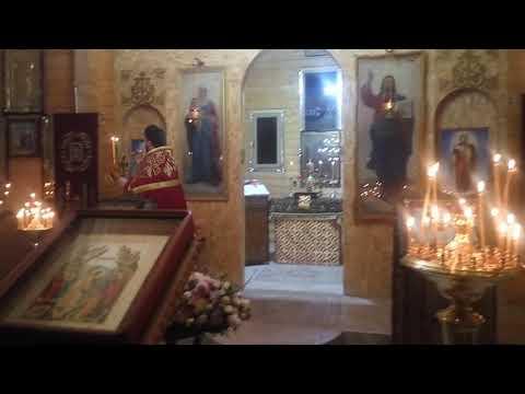 Пасхальная служба в храме Пантелеймона целителя. Батайск