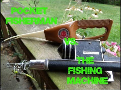 Pocket Fisherman Vs. The Fishing Machine