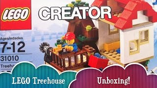 Lego Treehouse Creator Build 3 Different Houses From 1 Lego Set The Unboxing