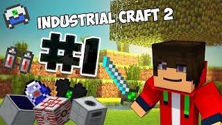 Minecraft Industrial Craft 2 выживание. Майнкрафт прохождение часть 1