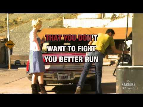 "Cowboy Casanova in the style of ""Carrie Underwood"" karaoke video with lyrics"