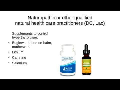 Graves Disease & Hyperthyroidism Naturopathic Doctor