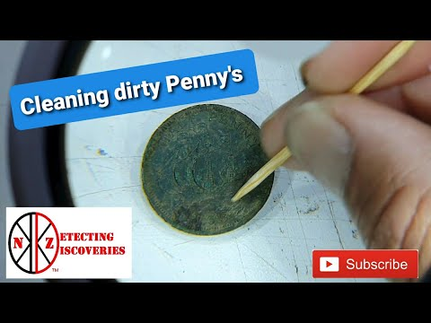 Cleaning those Dirty Penny's.. and a give away for my NZ group members..