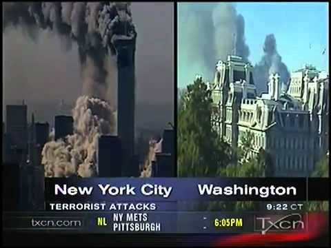 9/11 News Coverage - Texas Cable News TXCN September 11, 2001 10.15am - 10.30am