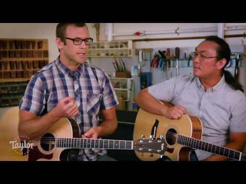 400 series acoustic guitar rosewood vs ovangkol comparison taylor guitars. Black Bedroom Furniture Sets. Home Design Ideas