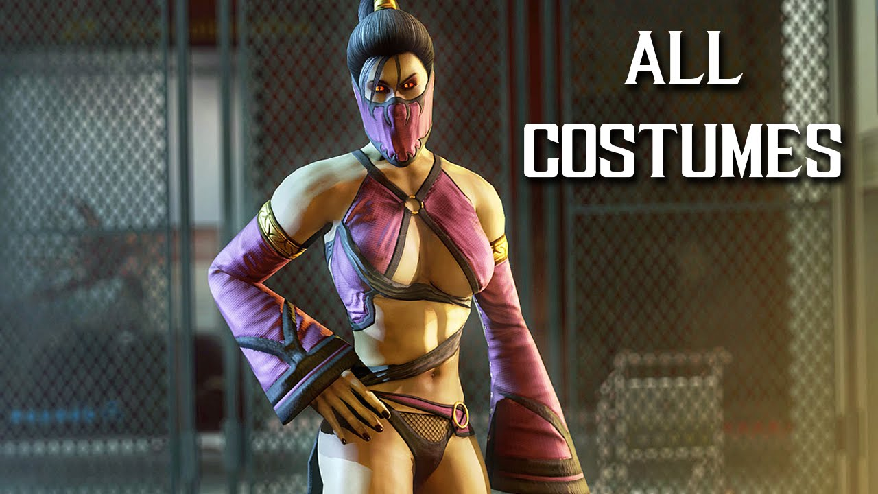 Mortal Kombat X All Costumes All Alternate Skins 1080p Hd