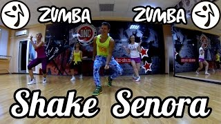 Zumba Fitness - Jump in the Line(Shake Senora) - Pitbull - Sean Paul - T-Pain #ZUMBA #ZUMBAFITNESS