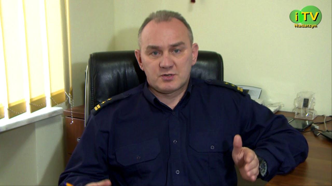 Komendant Straży Gminnej w Nadarzynie o pomocy osobom bezdomnym w okresie zimowym.