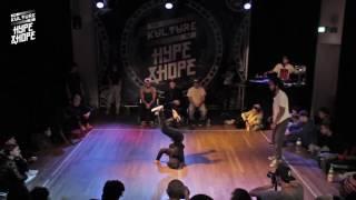 Mogli vs Hyper Soul    BBOY    The Kulture of HYPE & HOPE 2016   WATER EDITION