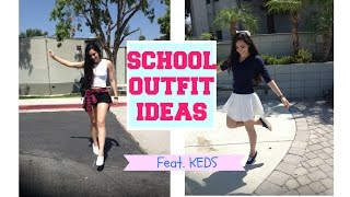 school outfit ideas feat keds