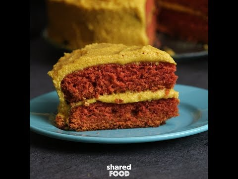 Frosty - Crazy Ketchup and Mustard Cake | Dessert
