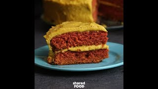 Crazy Ketchup and Mustard Cake | Dessert