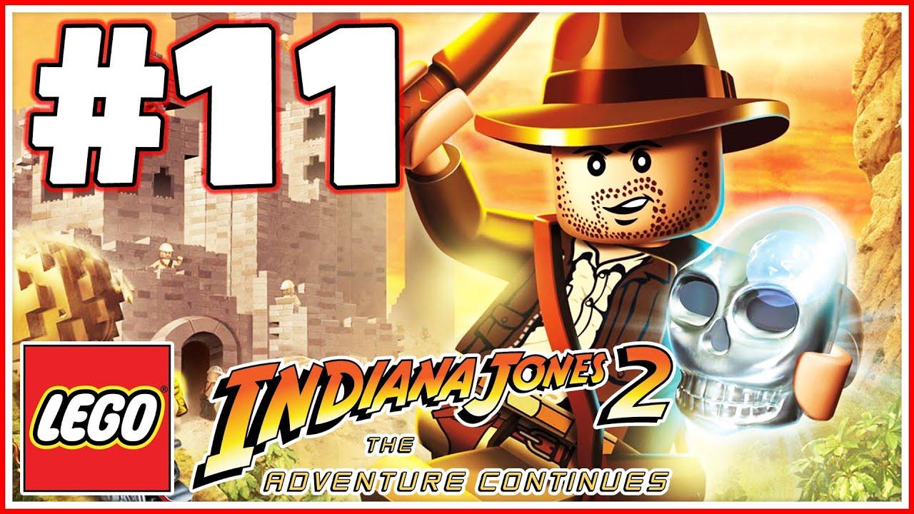 Lego Indiana Jones 2 - PART 11 - Raiders of the Lost Ark (HD)
