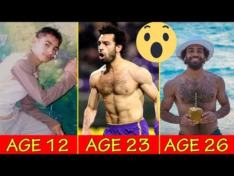 Mohamed Salah Transformation From 10 to 26 Years Old