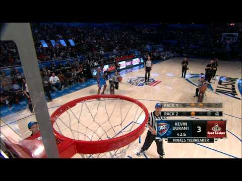 Foot Locker Three-Point Contest: Kevin Durant`s Final Round