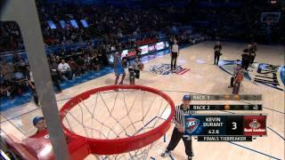 Foot Locker Three-Point Contest: Kevin Durant`s Final Round