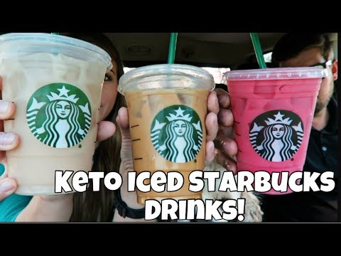 MY TOP 3 KETO STARBUCKS DRINKS