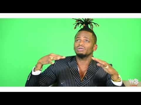 Diamond Platnumz - mapokezi ya Gabon yalikuwa mazuri (SPORT BAR CLOUDS FM PART 2))
