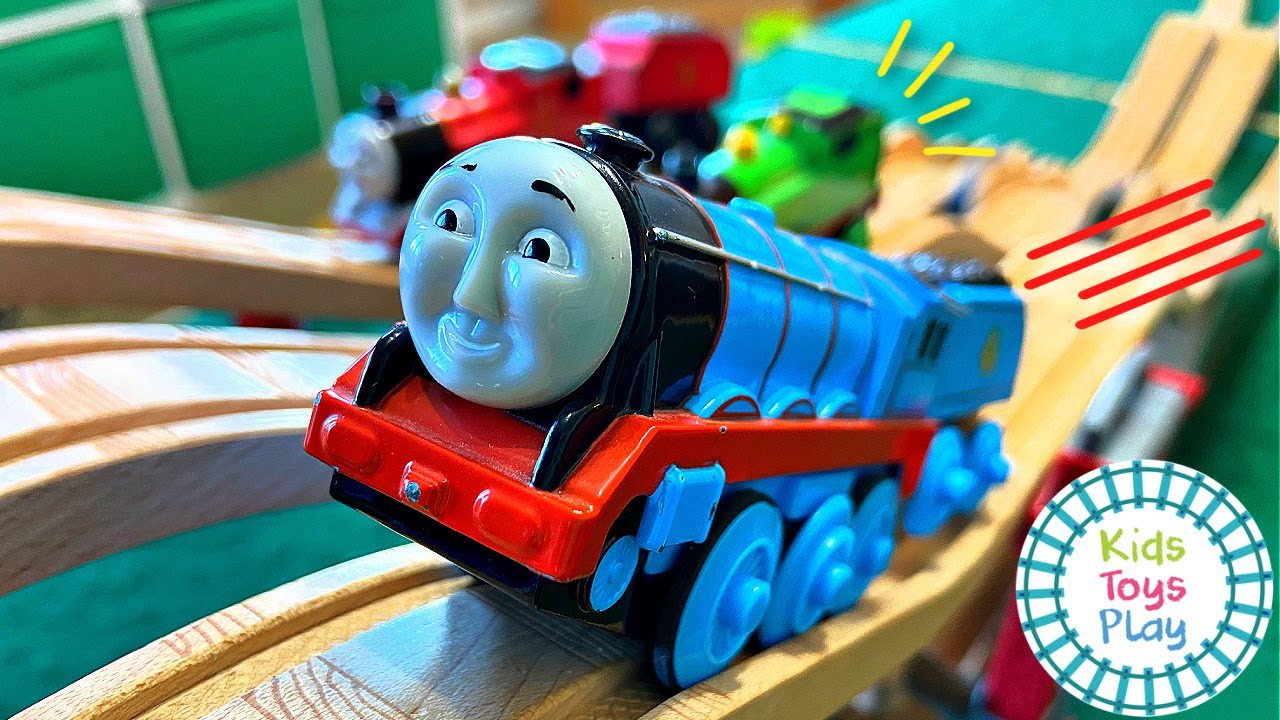 Who's the Fastest Thomas and Friends Train?