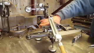 DIY knife sharpener/profiler Hapstone rotating jaws EdgePro