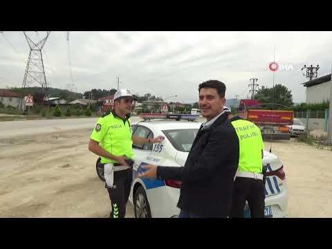Aşırı Hız Yapan Sürücüden İlginç Savunma