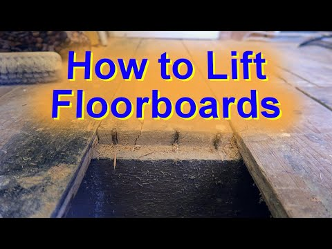 How to Lift Up a Floor Board