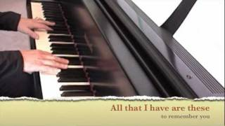 PHOTOGRAPHS AND MEMORIES - Jim Croce (Piano Cover with Lyrics)