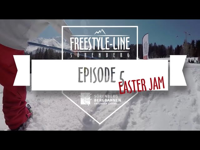 Freestyle Line Sörenberg, Episode 5//EasterJam Special, Season 14/15