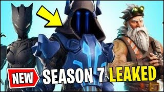 *NEW* Fortnite Season 7 OFFICIALLY LEAKED / *ALL* v7.0 Battle Pass Skins (Fortnite Update)
