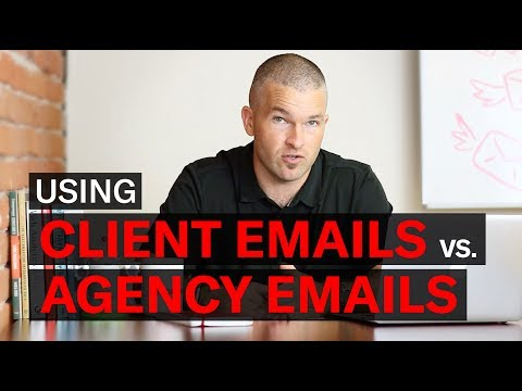 Should You Use a Client Email or an Agency Email?