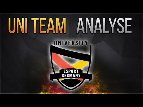 Uni Team Deutschland  [Analyse] [League of Legends] [German/Deutsch]