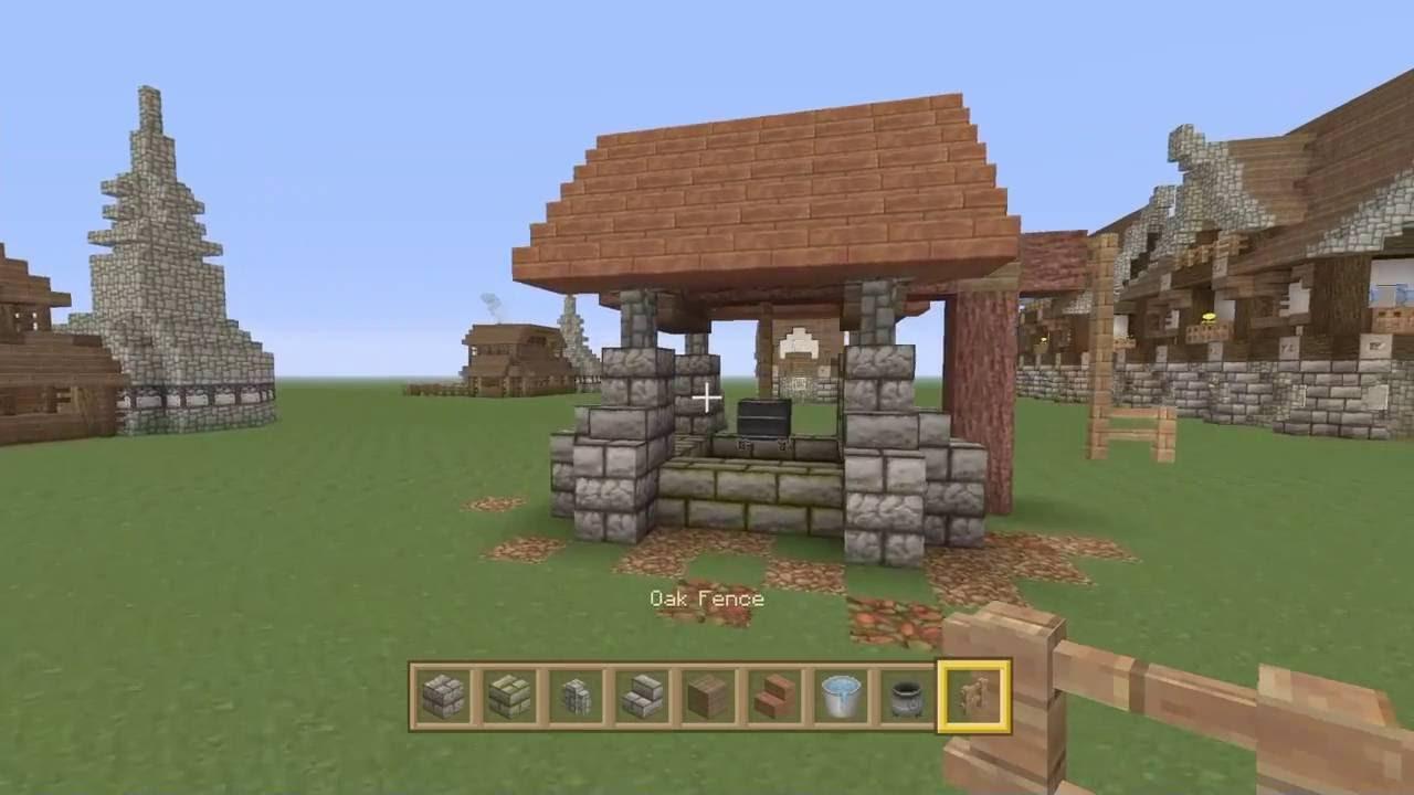 Minecraft Medieval Well