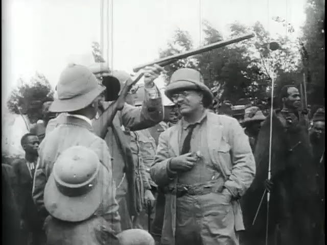 Teddy Roosevelt in Africa (1909) | Silent