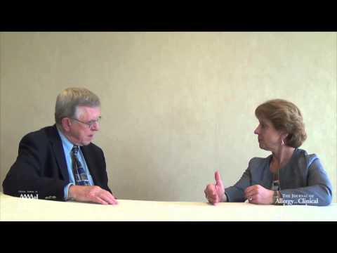 JACI Associate Editor Dr. Robert Bush interviews author Dr. Sally Wenzel