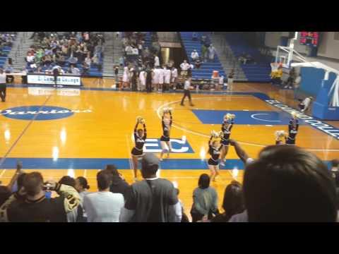 Bishop Montgomery High School Basketball vs. Damien Singleton 3 pointer win in overtime