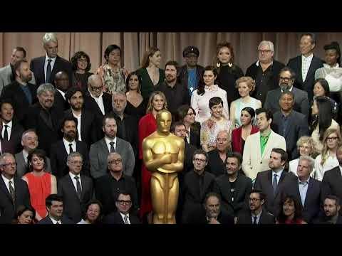 Gaga, Malek, Cooper star in Oscar class photo Mp3