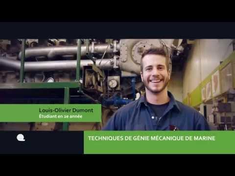 Portes ouvertes - Techniques de mécanique de marine - Institut maritime du Québec