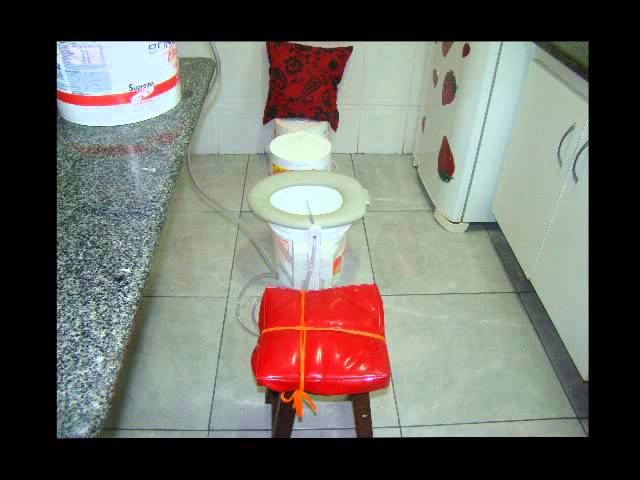 lavagem / limpeza intestinal profunda - equipamento para enema / clister caseiro